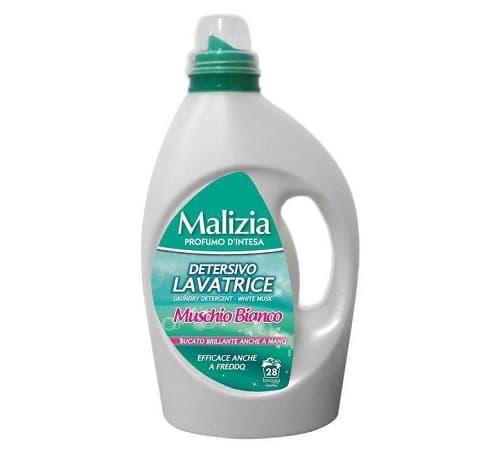 Malizia Detergent Lichid 1.82L Muschino Bianco (compresorf)