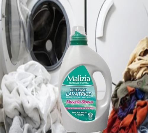 Malizia Detergent Lichid 1.82L Muschino Bianco