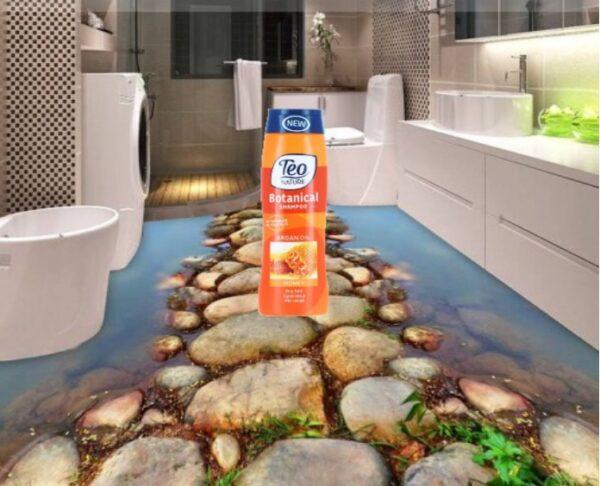Teo Șampon cu Miere și ulei de Argan 400 ML
