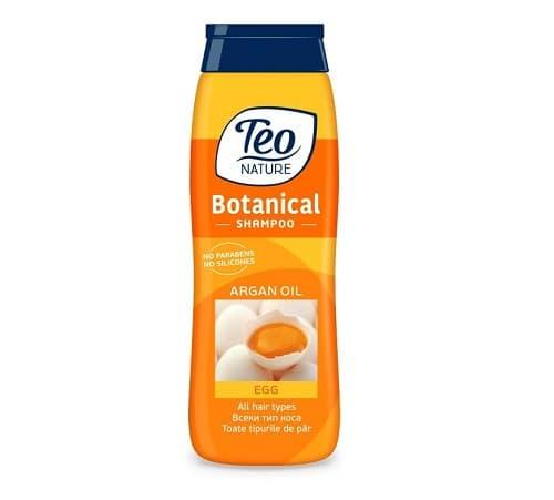 Teo Șampon cu Ou și ulei de Argan 400 ML comprimat
