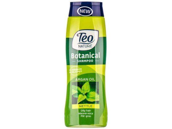 Teo Șampon cu Urzică și ulei de Argan 400 ML