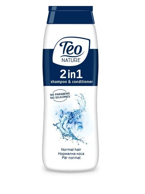 Teo Șampon și Balsam, formula cu efect de revitalizare și hidratare 400 ML