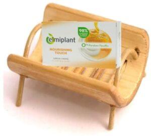 Săpun cremă cu Miere și Iaurt Nourshing Touch, 100 g, Elmiplant 1 comprimat