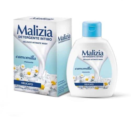 Săpun lichid intim Malizia Camomilla cu Extract de Mușețel 200ml comprimat