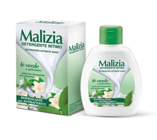 Săpun lichid intim Malizia Gelsonimo cu Extract de Ceai Verde 200ml comprimat